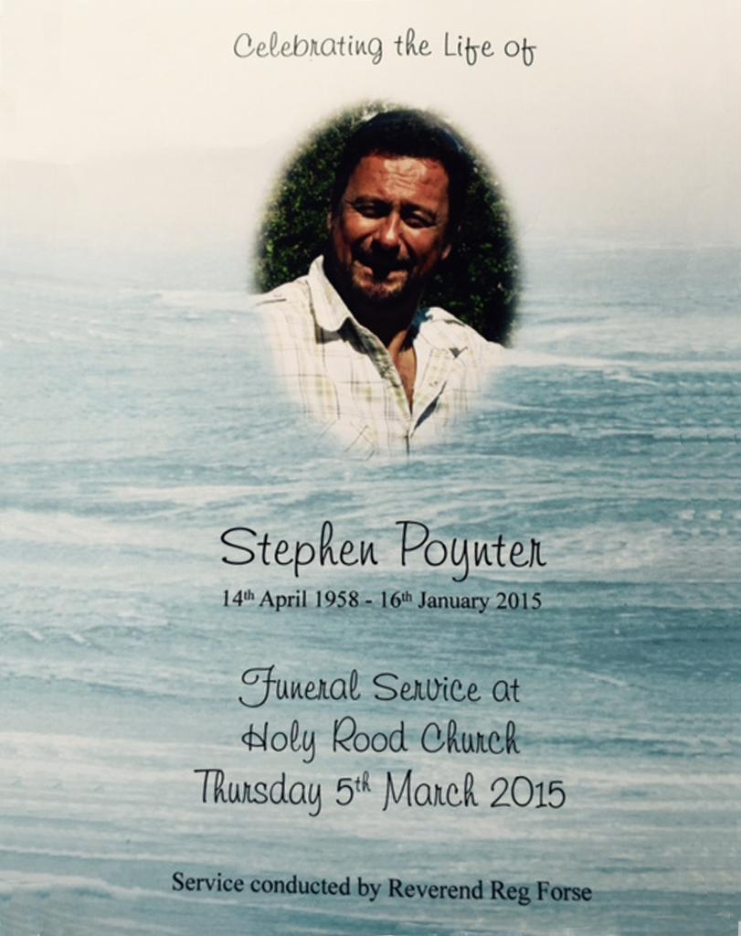 In memory of Steve Poynter_GTCS